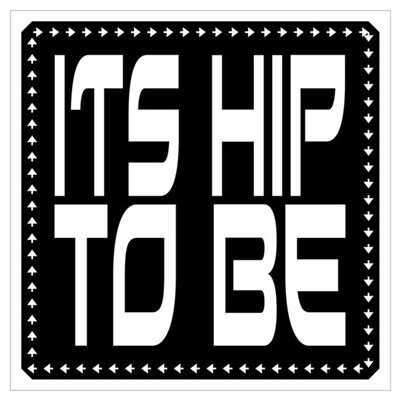 Hip to be Square Canvas Art