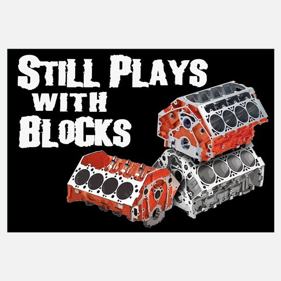 Still Plays With Blocks