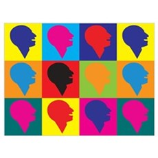 Speech Therapy Pop Art Poster
