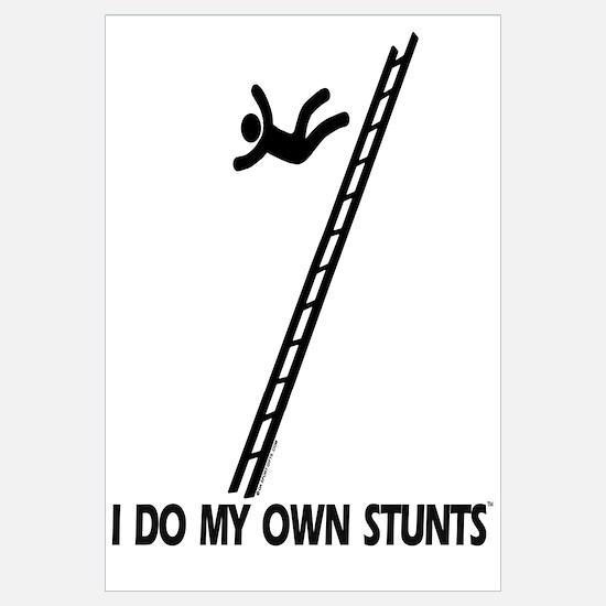Fall down a ladder Stunts