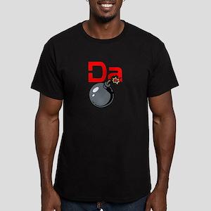 Da Bomb Men's Fitted T-Shirt (dark)