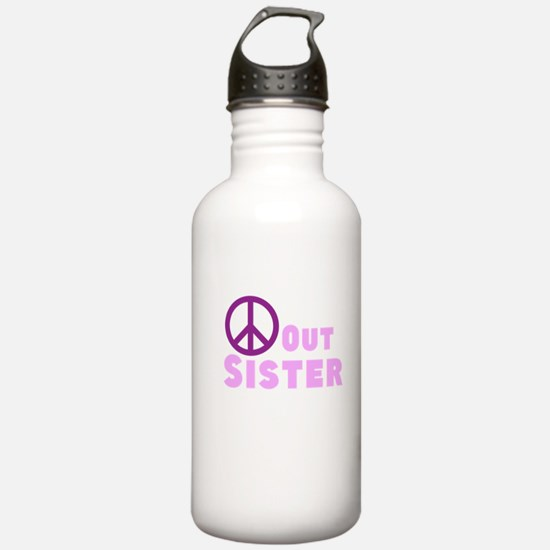 Peace Out Sister Water Bottle