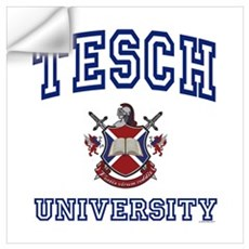 TESCH University Wall Decal