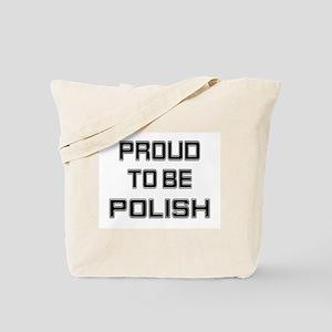 Proud to be Polish Tote Bag