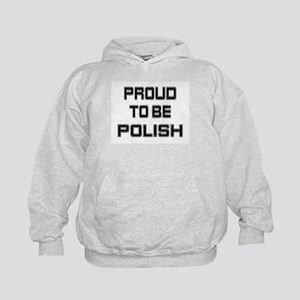 Proud to be Polish Kids Hoodie