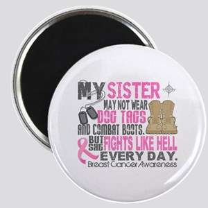 Dog Tags Breast Cancer Magnet
