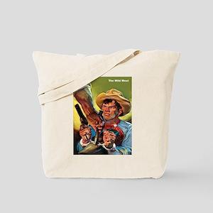 Wild West Outlaw Bandit Escape Tote Bag