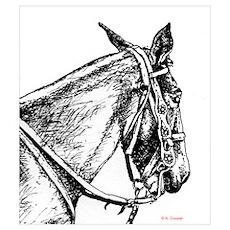 Listening Mule Poster