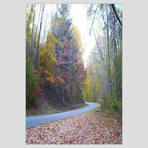 Blue Ridge Parkway in autumn ( NC ) 16 X 20