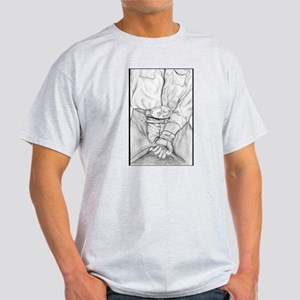 Rodeo Bull Rider Art Light T-Shirt
