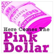 The Pink Dollar Poster