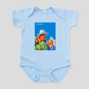 Wild West Cowboy & Cowgirl Love Infant Bodysuit