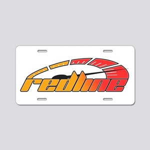 Redline Tach Aluminum License Plate
