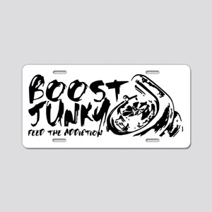 Boost Junky Aluminum License Plate