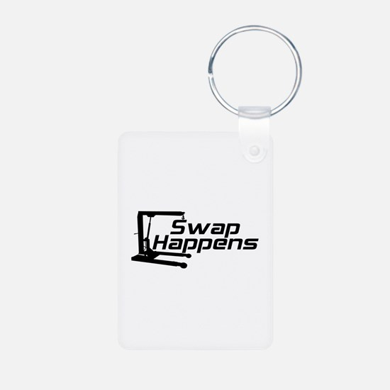 Swap Happens Keychains