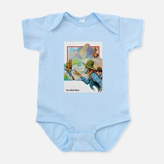Wild West Horses & Guns Infant Bodysuit