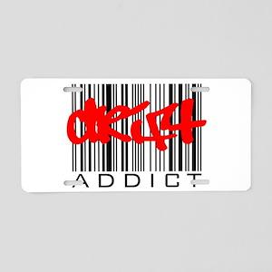 Drift Addict Aluminum License Plate