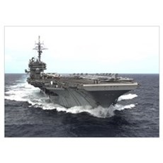 USS Kitty Hawk CV63 Navy Gift Poster