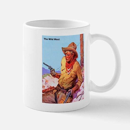 Wild West Cowboy with Two Guns Mug