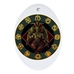 Baphomet2 Ornament (Oval)