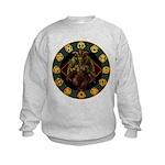Baphomet2 Kids Sweatshirt