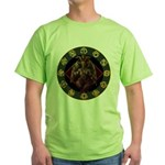 Baphomet2 Green T-Shirt