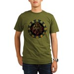 Baphomet2 Organic Men's T-Shirt (dark)