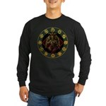 Baphomet2 Long Sleeve Dark T-Shirt