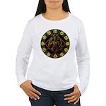 Baphomet2 Women's Long Sleeve T-Shirt