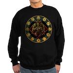 Baphomet2 Sweatshirt (dark)