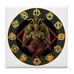 Baphomet2 Tile Coaster
