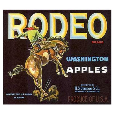 RODEO APPLES * Poster