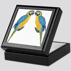 Blue & Gold Macaw Keepsake Box