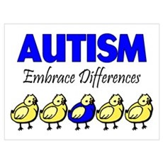 Autism, Embrace Differences Poster