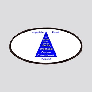 Argentinian Food Pyramid Patches