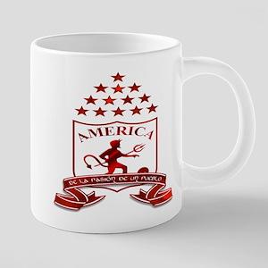americadecali 20 oz Ceramic Mega Mug