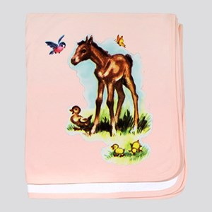 Baby Horse Pony Foal Filly baby blanket