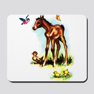 Baby Horse Pony Foal Filly Mousepad