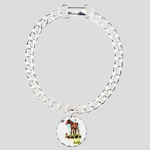 Baby Horse Pony Foal Filly Charm Bracelet, One Cha