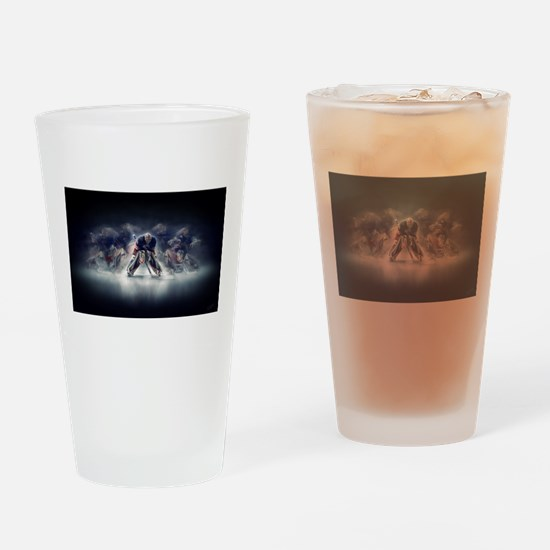 Unique Ice rink Drinking Glass