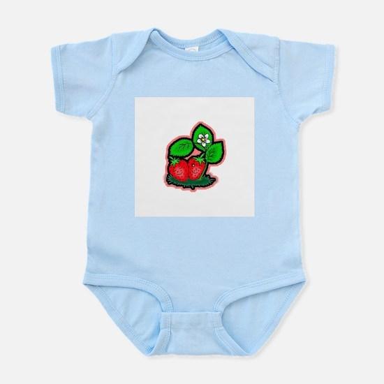 Strawberry Friends Infant Creeper