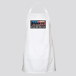Support our troops - Infantry BBQ Apron