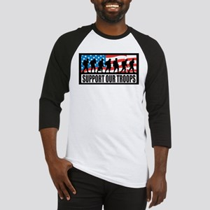 Support our troops - Infantry Baseball Jersey