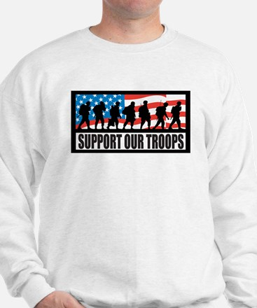 Support our troops - Infantry Sweatshirt