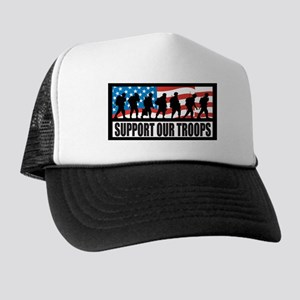 Support our troops - Infantry Trucker Hat