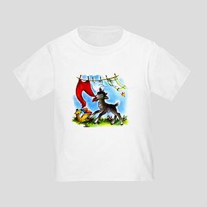 Funny Clothesline Goat Toddler T-Shirt