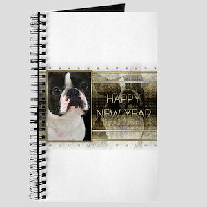 New Year - Golden Elegance - Boston Terrier Journa