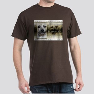 New Year - Golden Elegance - Cairn Dark T-Shirt