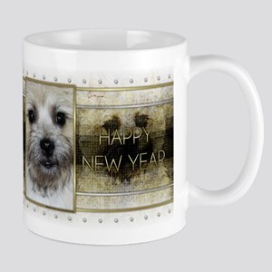 New Year - Golden Elegance - Cairn Mug
