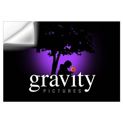 Gravity Pictures Purple Wall Decal